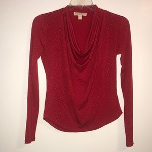Michael Michael Kors studded cowl neck top
